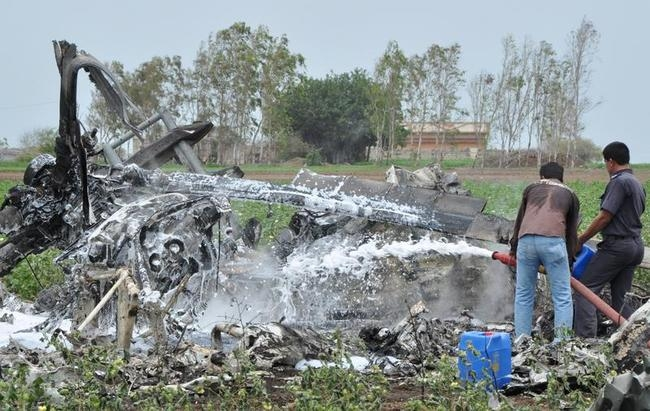 INDIA-MILITARY-AVIATION-CRASH