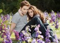 Kristen Stewart and Robert Pattinson on the sets of Twilight: Breaking Dawn 2