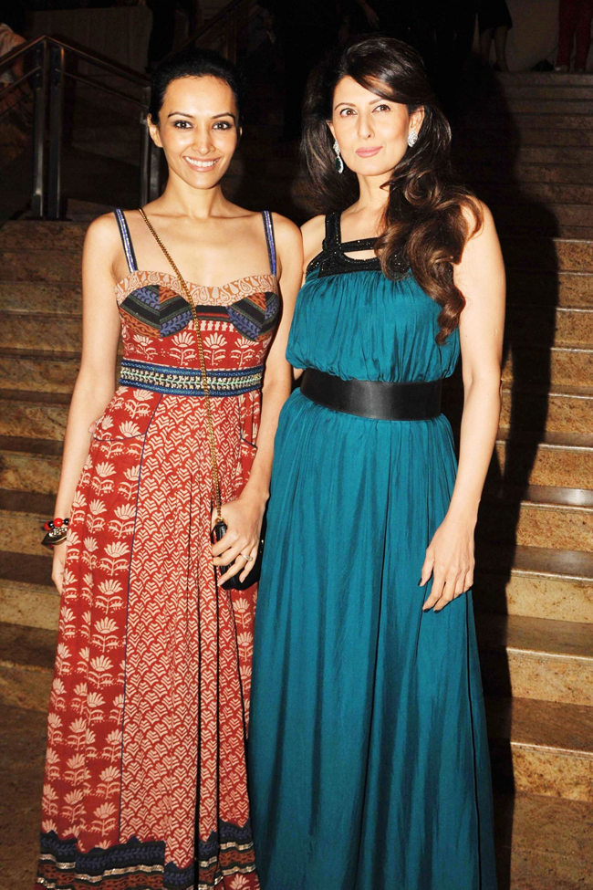 Dipannita Sharma and Sangita Bijlani