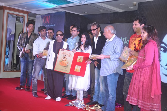 Top filmmkaers were spotted at the launch of singer Sanjeevani Bhelande's book Meera And Me
