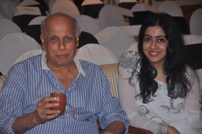 Mahesh Bhatt with Sanjeevani