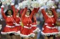 Christmas Fashion for NFL Cheerleaders