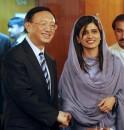 Pakistani Foreign Minister Hina Rabbani
