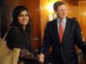 Pakistan's Foreign Minister Hina Rabbani