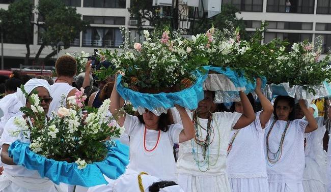 BRAZIL-RELIGION-SOCIETY-IEMANJA