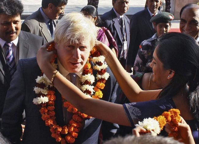 Boris Johnson's India Visit