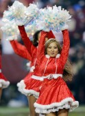 Christmas Fashion for NFL Cheerleaders