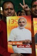 Celebrating Modi's Victory