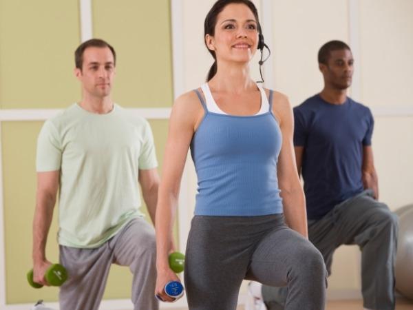 Start a Cardio + Weights Workout