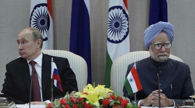 Vladimir Putin, Manmohan Singh