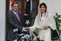 Pakistan Foreign Minister Hina Rabbani K