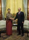 Sonia Gandhi, Vladimir Putin