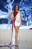 Miss Italy Pinto performs onstage at the 2012 Miss Universe National Costume Show at PH Live in Las Vegas