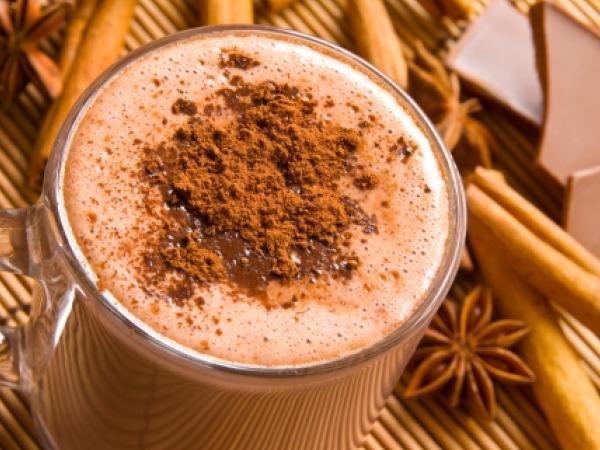 Christmas Drinks Recipes # 4: White hot-hot chocolate