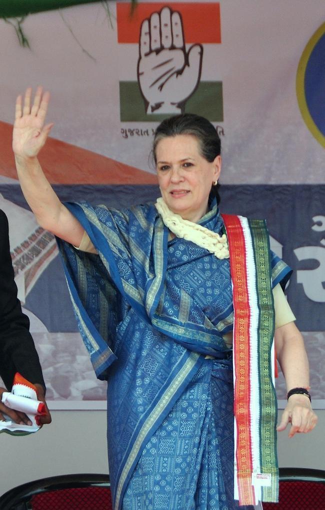 Sonia Gandhi in Gujarat
