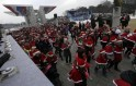 Koreans Run Santa Marathon!