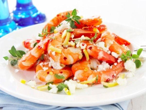 Zesty Lime Seafood Salad