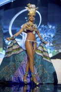 Miss Puerto Bodine Koehler performs onstage at the 2012 Miss Universe National Costume Show at PH Live in Las Vegas
