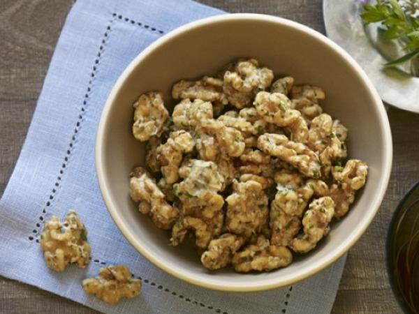Parmesan Herbed Walnuts