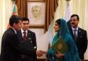 Turkmenistan's President Gurbanguly Berd