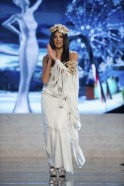Miss Cyprus Ioanna Yiannakou performs onstage at the 2012 Miss Universe National Costume Show at PH Live in Las Vegas