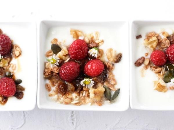 Raspberry & Honey Semifreddo