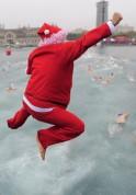 The Big Christmas Swimming Contest