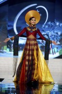 Miss Vietnam Diem performs onstage at the 2012 Miss Universe National Costume Show at PH Live in Las Vegas