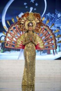 Miss Sri Lanka Herft performs onstage at the 2012 Miss Universe National Costume Show at PH Live in Las Vegas