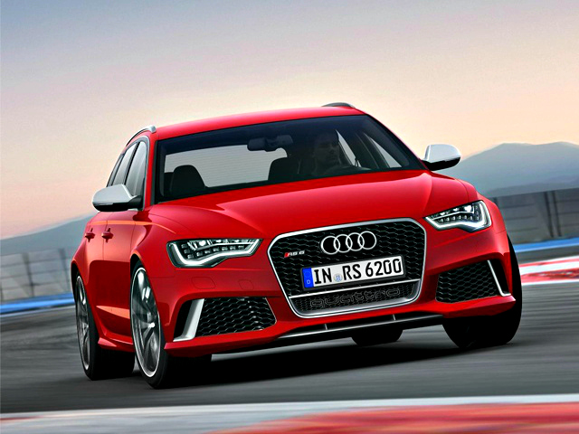In its third generation, the Audi RS6 Avant performance station wagon is armed with a 4.0-litre bi-turbo engine with cylinder-on-demand technology. The standard car now gets air suspension and lengthy options list.