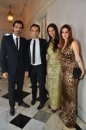 Arjun Rampal, Mozez Singh, Mehr Rampal and Susanne Roshan