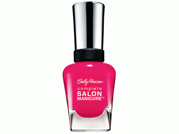 Reader Review:Sally Hansen's Complete Salon Manicure nail polish was a great buy. The thick brush allows easy application, while the lovely texture ensures a long-lasting finish. My choice of colour was a bright pink, which looked extremely chic. Price: Rs. 450 [Sara Pinto, student]