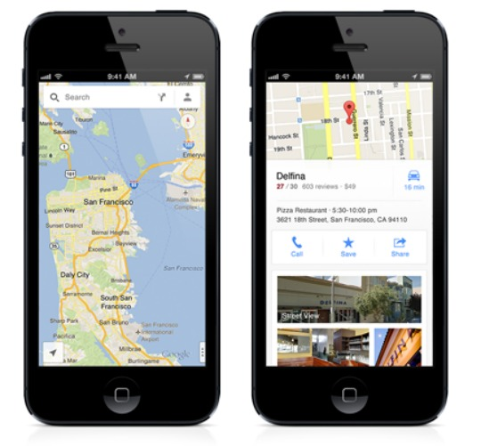 Earlier today we heard that Google might launch its new Google Maps app for iOS, the app is now officially available via the Apple App Store.