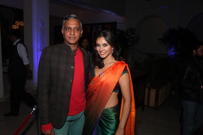 Sumant Jayakrishnan and Lisa Ray