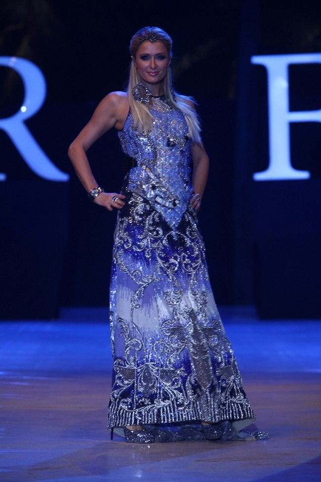 The 2nd edition of India Resort Fashion Week 2012 that was held over the weekend in Goa saw a host of movie stars, sexy models, famous designers and top DJs participate in the shows and after parties. Here's a wrap of all the celebrity action...Paris Hilton