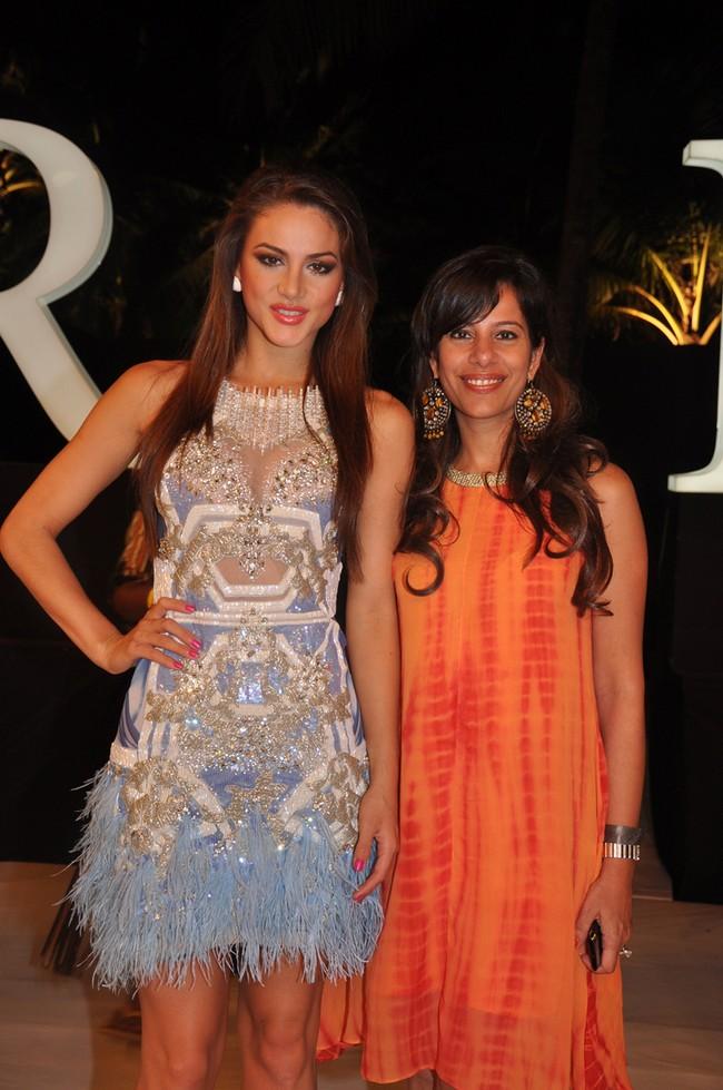 Nicole Huber with Sophia Premjee