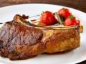 Greek style pork chops