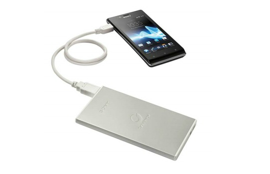Sony has released a couple of battery-packs that can charge two devices simultaneously through USB ports.