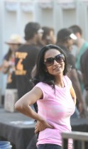 Suchitra Pillai at Sunburn Goa 2012, Day 1