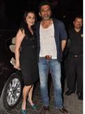 Suniel and Mana Shetty