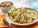 Orange Walnut Quinoa with Chickpeas and Mint