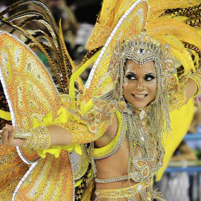 Rio wrapped up two nights of beautifully choreographed parades at its iconic Sambadrome early Tuesday, in a dazzling climax to its famed Carnival celebrations.
