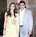 Gayatri Joshi with husband Vikas Oberoi