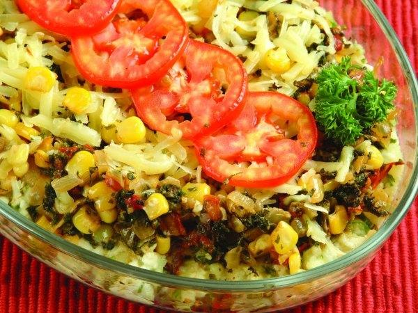 method potato spinach corn