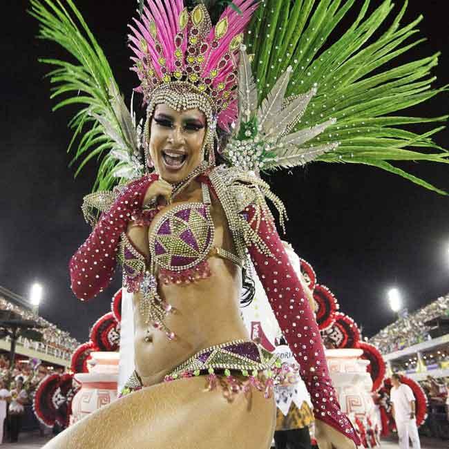 Hot Rio Carnival Prev Next Red-hot Rio