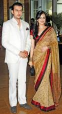 Diya Mirza and her beau, Sahil Sangha
