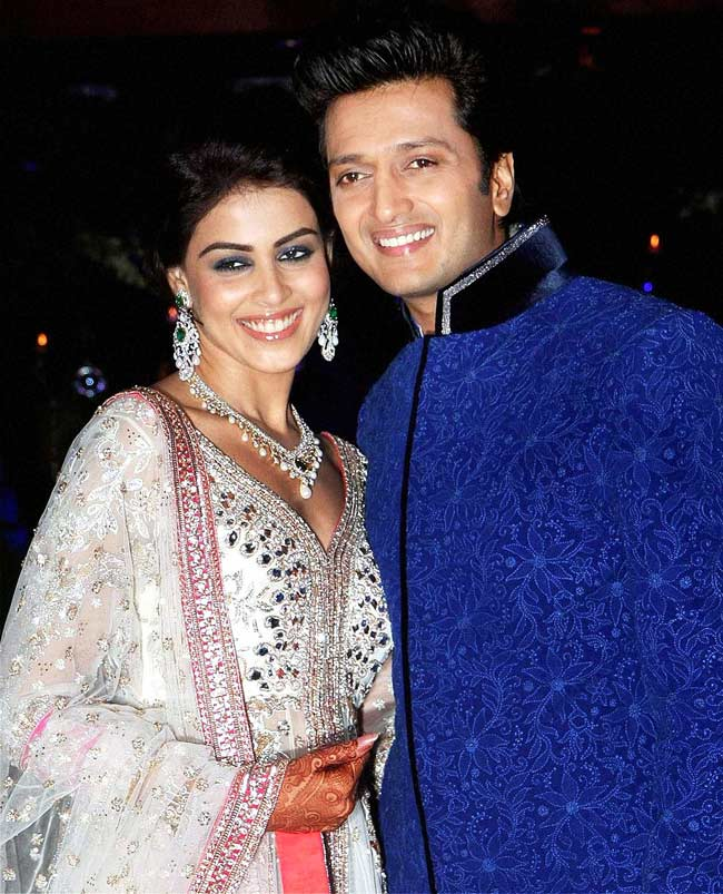 Ritesh-Genelia at their sangeet ceremony