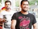 Dhoni, Sakshi's stroll @ the Yarra