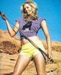 Golfer Anna Rawson