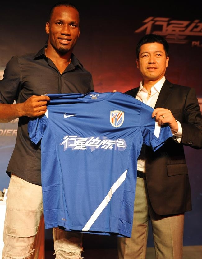 Didier Drogba in China